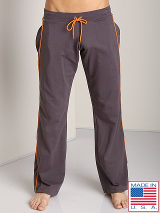 Go Softwear Active Workout Pant Charcoal/Orange