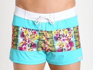 You may also like: Sauvage Spliced Tropical Print Swim Trunk Tahiti/Jade