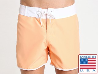 Sauvage Promenade Slim Fit Surf Short Mango