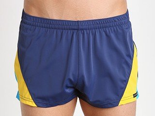 You may also like: Sauvage European Nylon Lycra Color Block Swim Trunk Navy