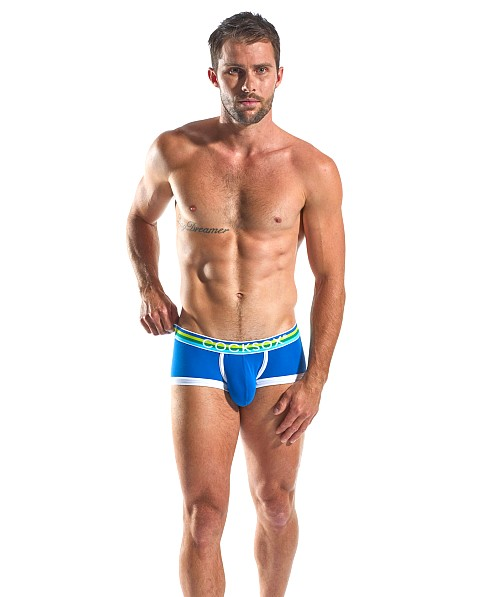 Cocksox Enhancer Pouch Supplex Trunk Ace Blue