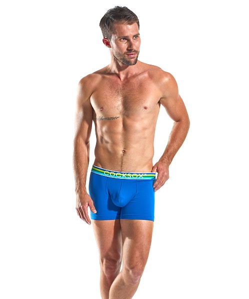 Cocksox Contour Pouch Supplex Boxer Ace Blue