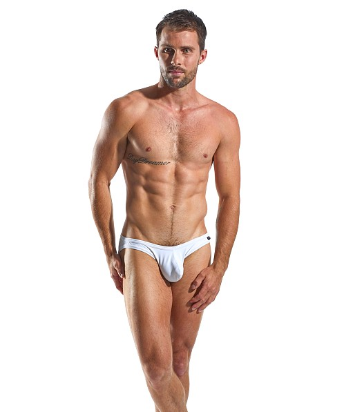 CockSox Enhancer Pouch Supplex Briefs Polo White