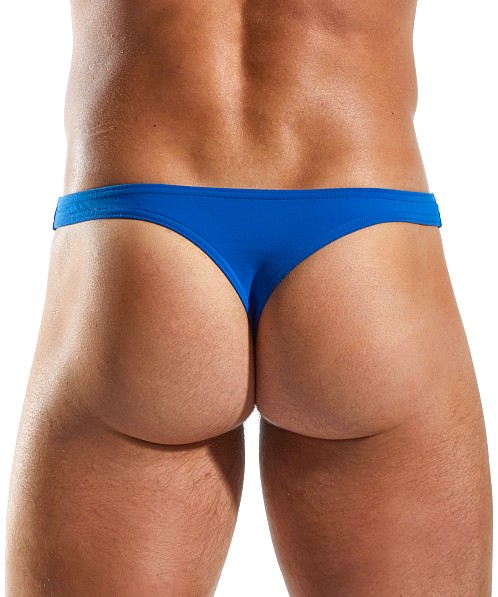Cocksox Enhancer Supplex Thong Ace Blue