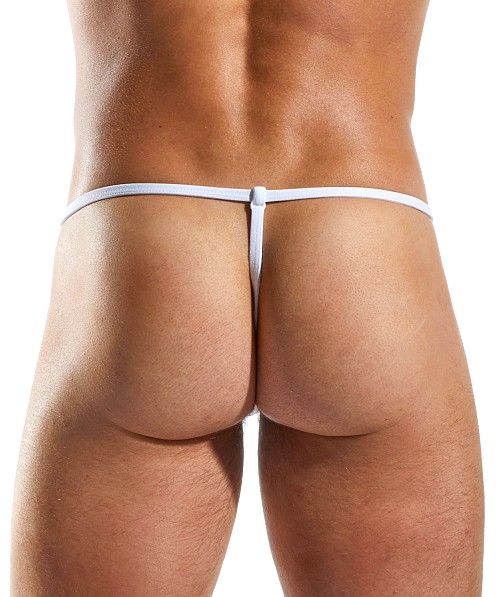 Cocksox Enhancer Supplex Slingshot G-String Polo White