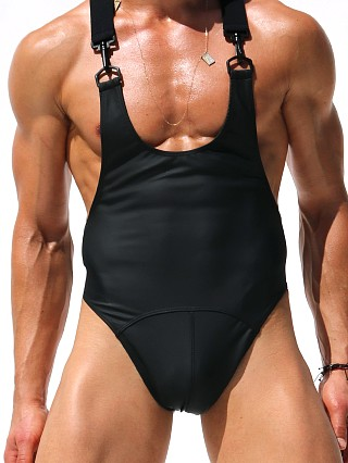 "Complete the look: Rufskin Morgan Stretch ""Rubber"" Bodysuit Black"