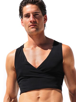 Complete the look: Rufskin Barbare Crossed V-Neck Torso Tank Top Black
