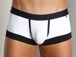 Tulio C-Ring Backstrap Midi Brief White/Black