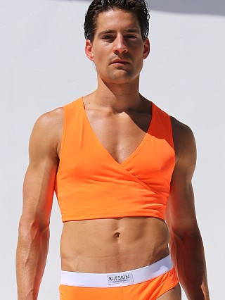 Complete the look: Rufskin Barbare Crossed V-Neck Torso Tank Top CalTrans Orange