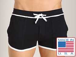 LASC Short Short Black/White