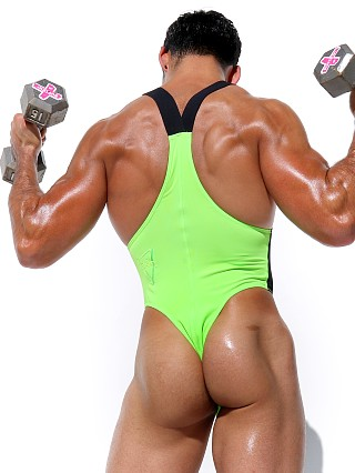 Complete the look: Rufskin Core Neon Sport Thong Bodysuit Green AF