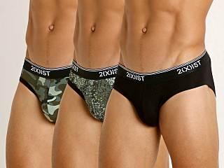 You may also like: 2xist Stretch No-Show Brief 3-Pack Camo Dot/Traditional/Floral