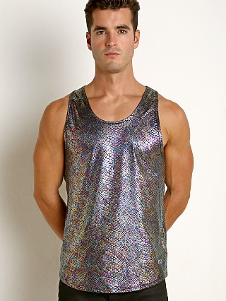 Complete the look: 2xist Sliq Micro Printed Tank Iridescent Snake Dark