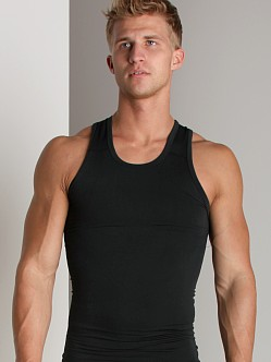 Equmen Core Precision Singlet Tank Top Black