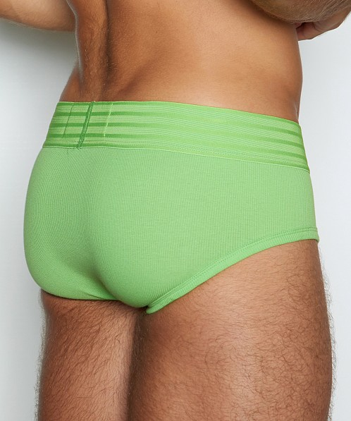 C-IN2 Hard//Core Fly Front Brief Patrick Green