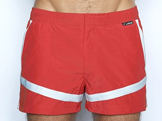 Complete the look: C-IN2 Woven Swim Shorts Red Baron