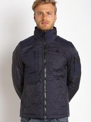 G-Star Powel Quilted Jacket Saru Blue