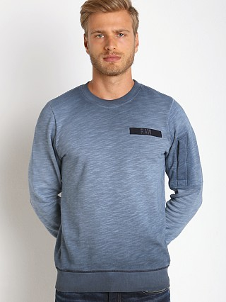 Complete the look: G-Star Batt Lyon Slub Sweatshirt Saru Blue