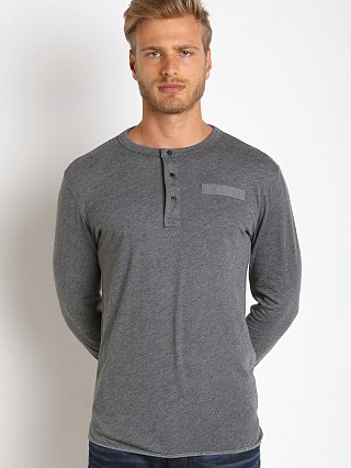 G-Star Classic Granddad Henley Grey Heather