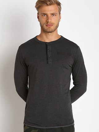 G-Star Classic Granddad Henley Black Heather