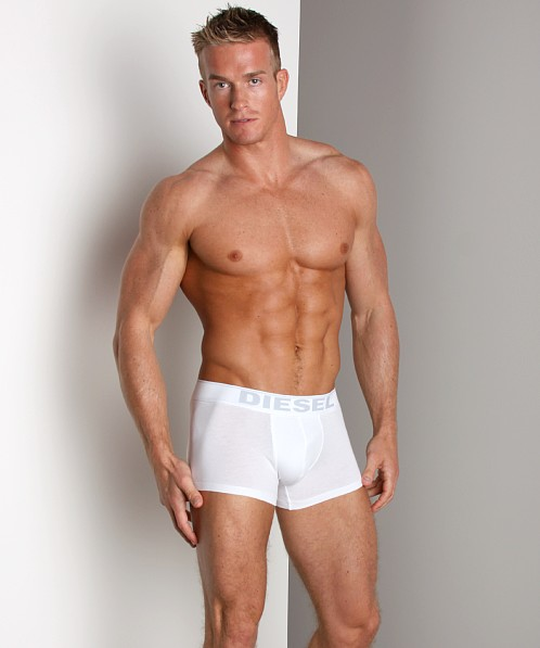 Diesel Essential Cotton Stretch Kory Trunk White