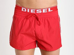 Diesel Seaside Swim Shorts Red