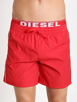 Diesel Dolphin Swim Boxer Red