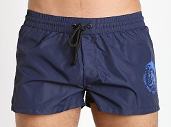 Diesel Mohican Logo Sandy Swim Shorts Navy