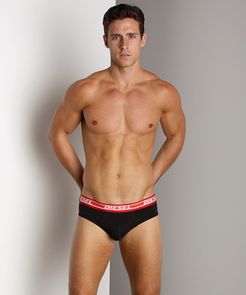 Diesel Essential Fluorescent Band Andre Brief Red