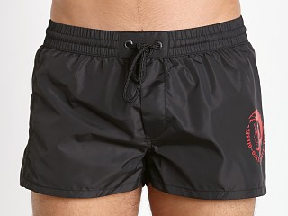 Diesel Mohican Logo Sandy Swim Shorts Black