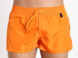 Diesel Fold & Go Sandy Swim Shorts Orange