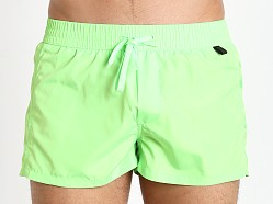 Diesel Fold & Go Sandy Swim Shorts Neon Green