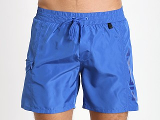 Diesel Fold & Wave Swim Shorts Blue
