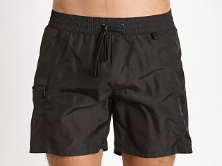 Diesel Fold & Wave Swim Shorts Black