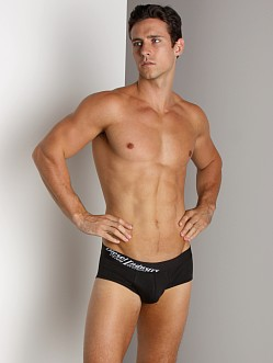 Diesel Essential Fine Cotton Vince Brief Black