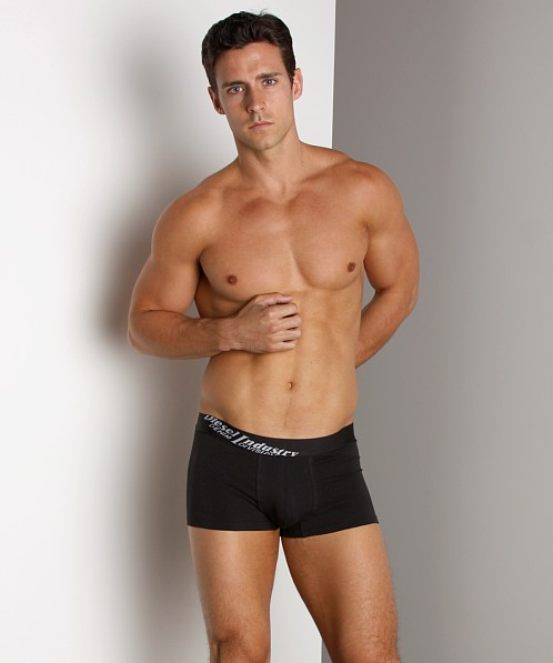 Diesel Essential Fine Cotton Marcus Trunk Black