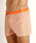 Jack Adams Oswego Swim Trunk Orange, view 3