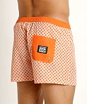 Jack Adams Oswego Swim Trunk Orange, view 4