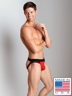 Activeman Elite Jockstrap Red/Black