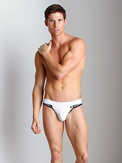Activeman Elite Jockstrap White/Black
