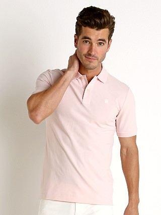 G-Star Dunda Slim Polo Shirt Lt Bleach Pink