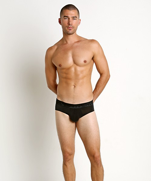Modus Vivendi Gloss Italian Cupro Brief Black