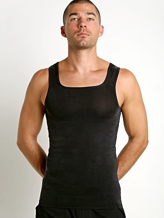 Complete the look: Modus Vivendi Gloss Italian Cupro Tank Top Black