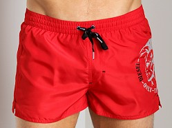Diesel Coralrif Swim Shorts Red