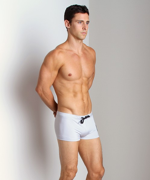 Diesel Aloha Swim Trunk Grey