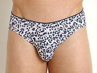 2xist Sliq Micro Sliq Brief Cheetah Print English Rose