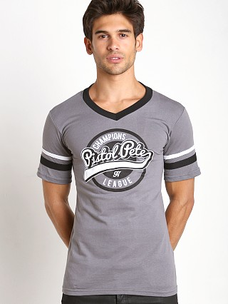 Complete the look: Pistol Pete Champion V-Neck Tee Gray