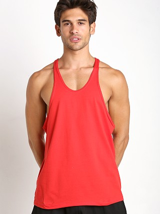 Complete the look: Pistol Pete Circuit 100% Cotton Y-Back Tank Top Red