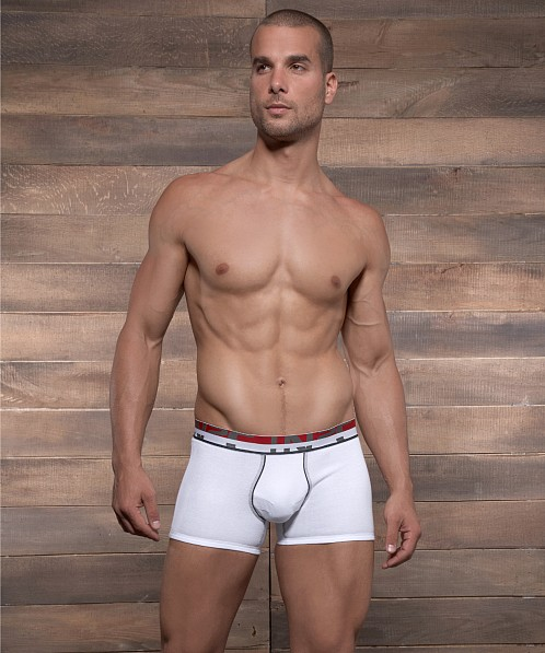 C-IN2 Grip Compression Shorts White