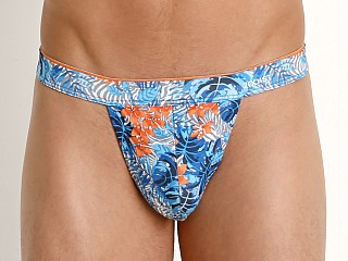 Complete the look: 2xist Sliq Micro Y-Back Thong Floral Zebra Blue